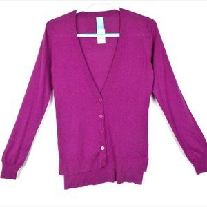 Barney's New York Silk Cashmere Cardigan Size L